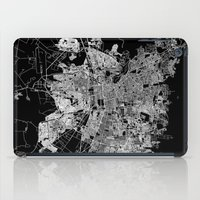 chile iPad Cases featuring Santiago map Chile by Line Line Lines