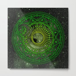 Magic Circle - Yukito Tsukishiro Metal Print