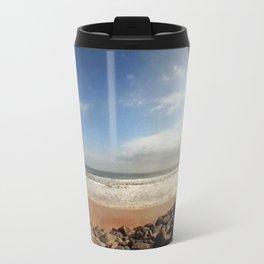 Fisheye Beach (Film) Travel Mug