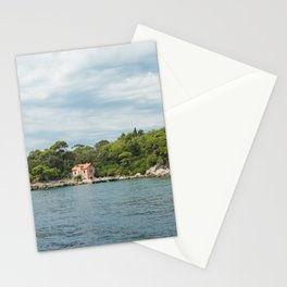 Lokrum Croatia Stationery Cards