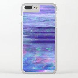 Glytch 22 Clear iPhone Case