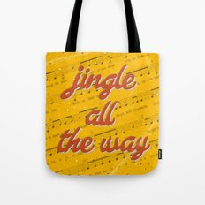 Jingle Bells #3 - A Hell Songbook Edition Tote Bag
