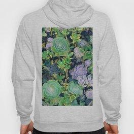Succulents, plants Hoody