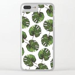Palm Cuts Clear iPhone Case