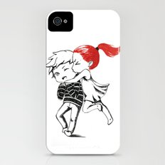 Girl and a Boy iPhone (4, 4s) Slim Case