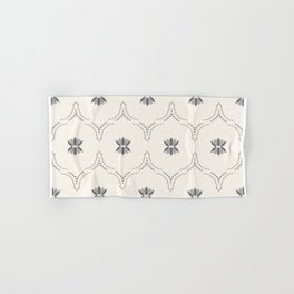 WILDFLOWER JASMIN GREY Hand & Bath Towel