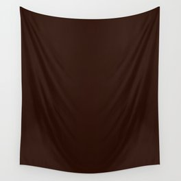 Root beer - solid color Wall Tapestry