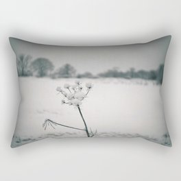 Snow Detail Rectangular Pillow