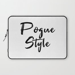 Pogue Style Laptop Sleeve