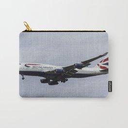 British Airways Boeing 747 Carry-All Pouch