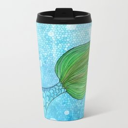 Mysterious Mermaid Metal Travel Mug