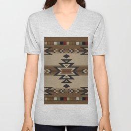 American Native Pattern No. 170 Unisex V-Neck
