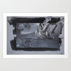 future-gone Art Print