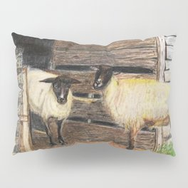 Curly and Moe Pillow Sham