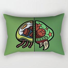 Old & New Metroid Rectangular Pillow