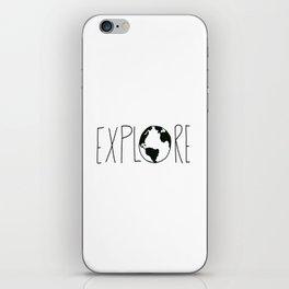 Explore the Globe x BW iPhone Skin