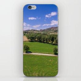 Green Fields of Abruzzo iPhone Skin