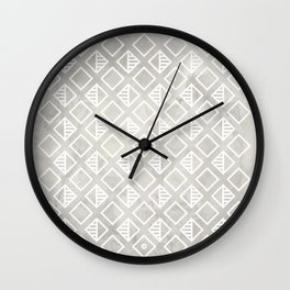 Marble with rhombus Wall Clock