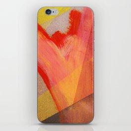 Orange flow iPhone Skin