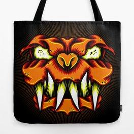 LavaDog Tote Bag