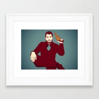 welcome Framed Art Prints featuring Welcome by FalcaoLucas