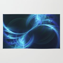 Blue Pulsar Rug
