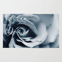 Rose - powder blue Rug