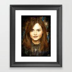 The Impossible Girl Framed Art Print