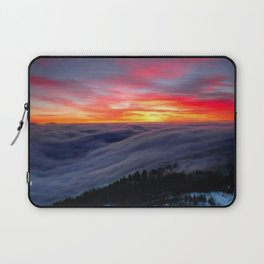 Sunrise from Mountaintop Laptop Sleeve