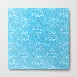 Sea Lettuce_Pattern Metal Print