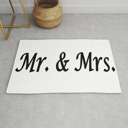Mr. & Mrs. Rug