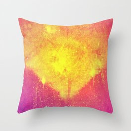i am glowing Throw Pillow