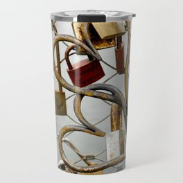 heart-locked Travel Mug