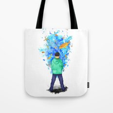 Never Ending Story Tote Bag