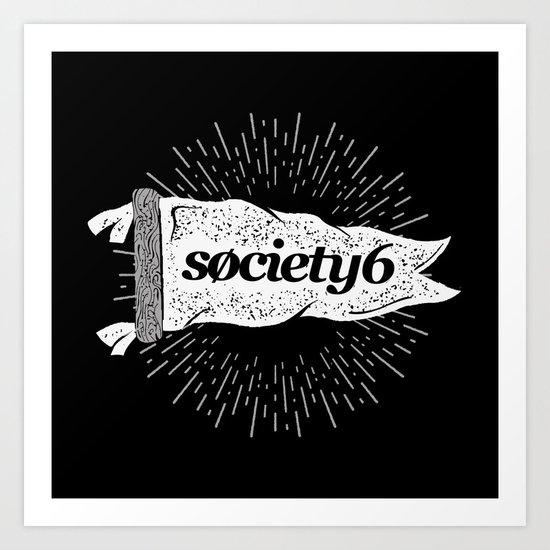 Society6 Banner Art Print