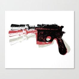 Blaster (Left) Canvas Print