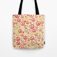 Love and Peace to you , Brother Tote Bag
