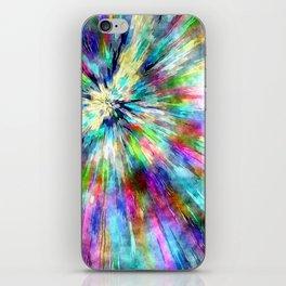 Colorful Tie Dye Watercolor iPhone Skin