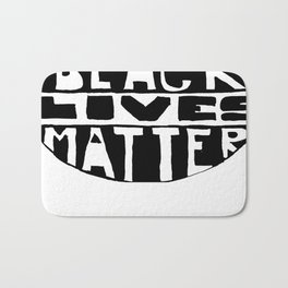 Black Lives Matter Filled Bath Mat