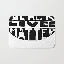 Black Lives Matter Filled Bath Mat