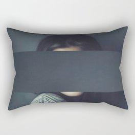 Mystery Girl Rectangular Pillow