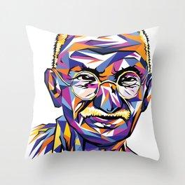 Legend of the fall – Ghandi Throw Pillow