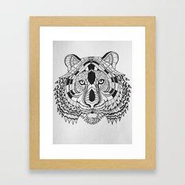 Save the Tiger Framed Art Print