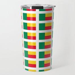 Flag of benin-beninese,beninois,benines,dahomey,fon,yoruba,Cotonou,Fula Travel Mug