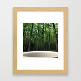 Breakfast View, Smoky Mountain Tennessee Framed Art Print