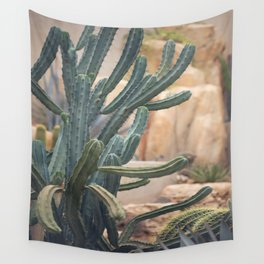 Cactus Jungle II Wall Tapestry