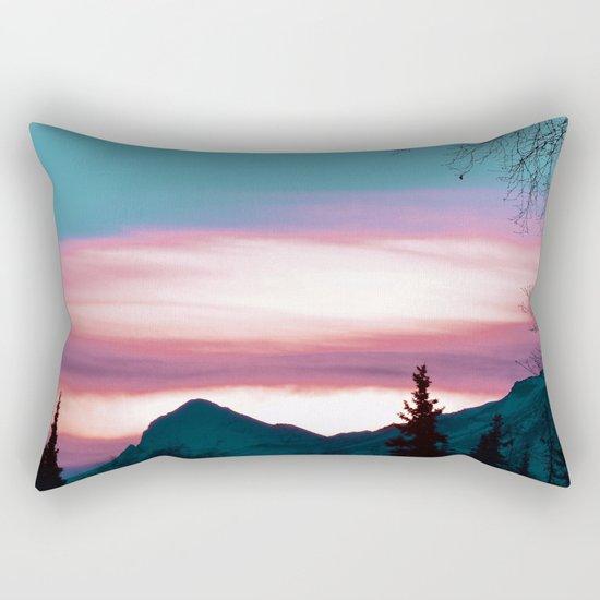 Alaskan Pastel Vibes Rectangular Pillow