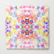 Floral Print - Brights Metal Print