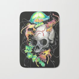 Betta Skull Bath Mat