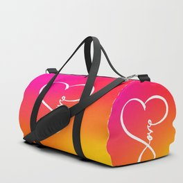 You are the Rainbow of my Heart Duffle Bag
